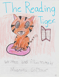 The Reading Tiger thumbnail