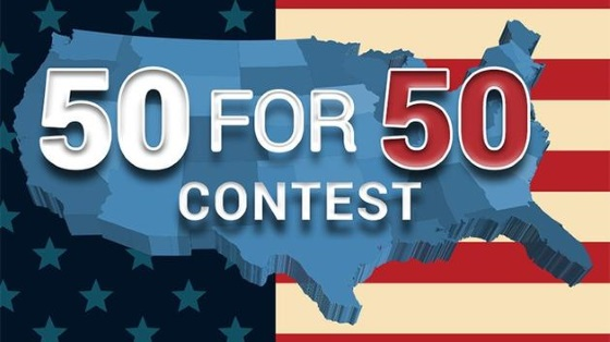 50 for 50 contest