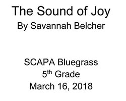 The Sound of Joy Cover